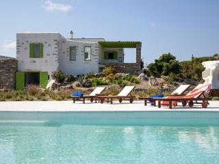 Stone made villa with private pool & stunning view - Parikia vacation rentals