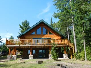 Hand Crafted Log Home on Lake - Wisconsin vacation rentals