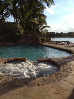 Waterfront PARADISE Luxury Tropical Home - Surfside vacation rentals