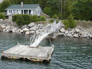 Oceanfront Cottage on Somes Sound w/Dock & Mooring - Bar Harbor and Mount Desert Island vacation rentals