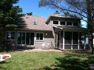 Waterfront Cottage on Private Lake with Sauna, Fire Hot Tub, Fire Place - Evart vacation rentals