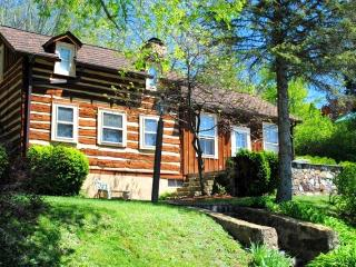 Anastasia - A rustic pet friendly log cabin with beautiful antique details yet completely modernized - Hot Springs vacation rentals