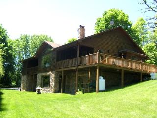 Linkhorn - Family friendly home in a private setting just minutes from The Homestead Resort. Large windows and wraparound deck - Shenandoah Valley vacation rentals