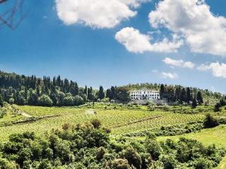 Villa Vistarenni with tennis court, housekeeping and a picturesque chapel - Chianti vacation rentals