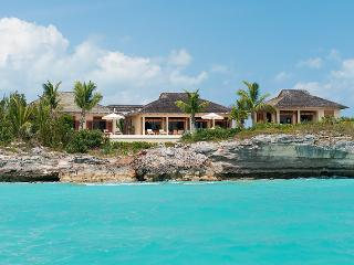 Private Villa Alamandra at Silly Creek, Turks and Caicos - Oceanfront, Pool, Amazing Sunset View - Providenciales vacation rentals