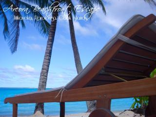 Stunning Private Beachfront Location in Titikaveka - Southern Cook Islands vacation rentals