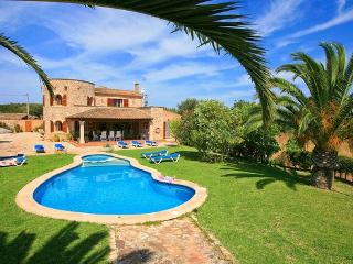 Holiday home on Majorca Santanyi for 10  people with pool and children's pool - ES-1079072-Santanyi - Santanyi vacation rentals