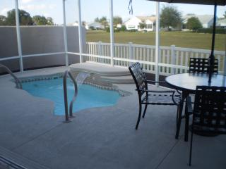 Villa with solar heated pool in The Villages, FL - Lady Lake vacation rentals