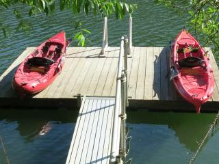 MOJO'S LAIR--Riverfront, Private Dock, Kayaks, Spa - Guerneville vacation rentals