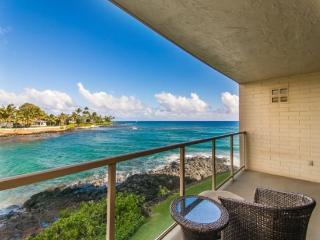 Free Car* with Kuhio Shores 207 - Spectacular remodel on this oceanfront 1bd with awesome ocean views. Watch the sea turtles fro - Kauai vacation rentals
