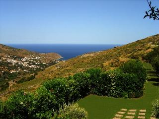 Design villa with panoramic view all around - Andros vacation rentals