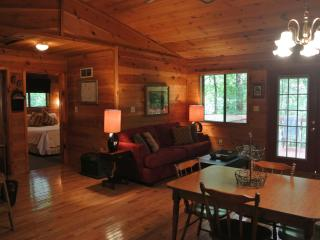 Whispering Creek - 2 bedroom, 2 private bathrooms, Hot tub - Helen vacation rentals
