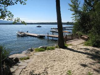 Avery West Shore- Lakefront Cabin with Views, Sandy Beach & Private Boat Dock - McCall vacation rentals