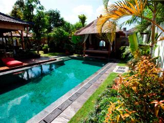 Luxury 4 bed villa, central Seminyak with pool table - Bali vacation rentals
