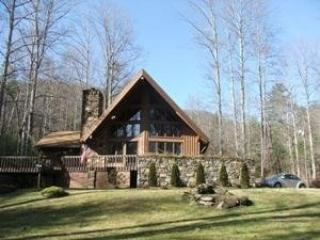 Hawk's View Chalet - hot tub, pool, creek & views! - Weaverville vacation rentals