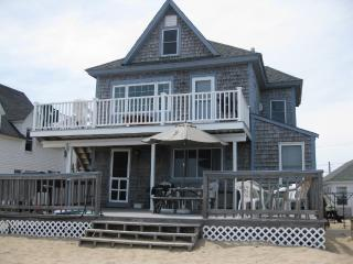 Oceanfront 2-family cottage; steps from the sea - Salisbury vacation rentals