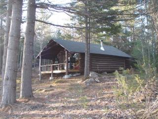 Secluded Rustic Log Cabin-HUGE mountain views! - Western Maine vacation rentals
