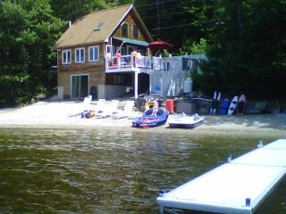Modern lakehouse, private beach on Chrystal Lake - Harrison vacation rentals
