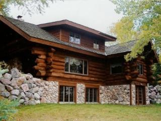 PET FRIENDLY LOG HOME, ON 2 PRIVATE, WOODED ACRES - Wisconsin vacation rentals
