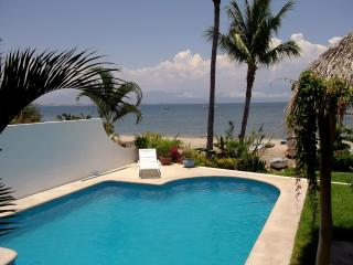 Beach Front Vacation Home Private Pool - Mexican Riviera-Pacific Coast vacation rentals