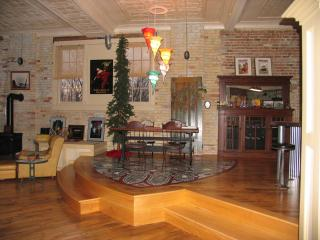 $595 wk.. Loft in historic building, walk to beach - South Haven vacation rentals