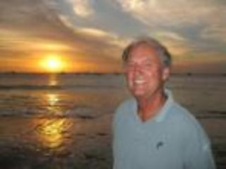 Rich loves the sunsets at the beach - Image