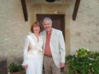 Maggi and Andrew at la Bastide - Andrew Payne