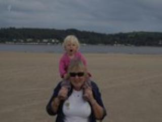 Our granddaughter Isabella is a great source of joy... - Bridie Brittain
