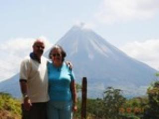 Ruth and I in Costa Rica - Captain Gerald Edwards