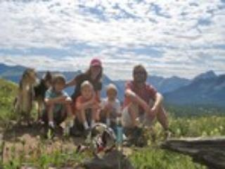 The Hall family enjoying the Colorado Mountains - Christopher Hall