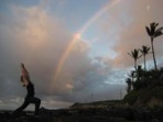 Yoga and Rainbows North Shore Maui - Marie Thorne Thomsen