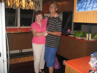 Mom and Son celebrating 22 years at SigaSiga Sands! - SigaSiga Sands Cottages