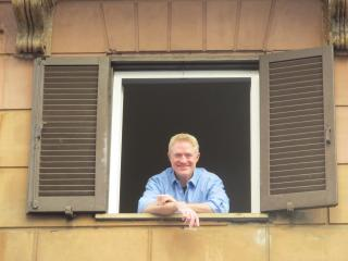 David Colin, owner of the Spanish Steps Apartment - The Spanish Steps Apartment