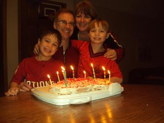 My Family - Cathy Brownell (Property manager)