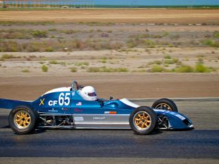 On the track at Buttonwillow Race Park - Dan Skeeters