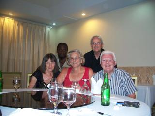 An evening with friends - Terry and June Crookes