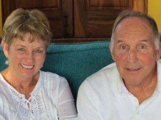 Melissa and Bill Roberts -- She's the genuius who designed the property and appointed it. - MELISSA AND BILL ROBERTS