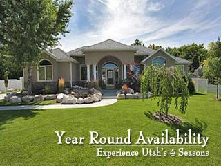 Hard to find homes that sleep more than any other owner available year round - Utah's Best Vacation Rentals