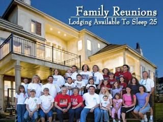 Homes large enough for family reunions sleep up to 25 - Utah's Best Vacation Rentals