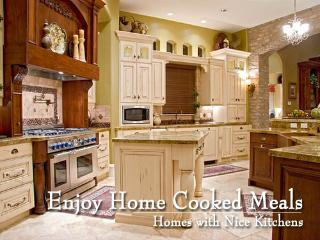 Gorgeous kitchens fully stocked with supplies to cook your own meals - Utah's Best Vacation Rentals