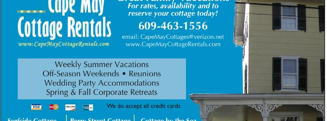 Cape May Cottage Rentals - Cape May Cottage Rentals owned by Tompkins Builders