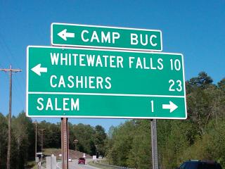 Intersection at SC Hwy 11 and 130...13.5 miles turn left at crossroad..2.5 miles to Woods at Buc - The Woods at Buc