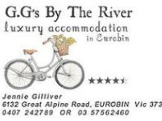 GG's by The River Luxury accommodation with a homely feel. - Jennie Gilliver