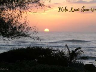 Sunrise at Kaha Lani Resort; beautiful oceanfront property - Garden Island Properties LLC