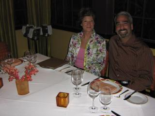 My boyfriend and I dining out in West Palm - Laury OHalloran