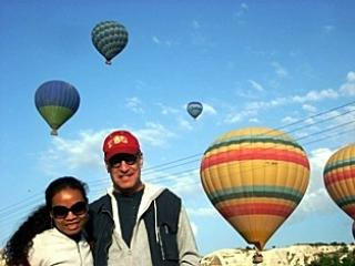 the Trules air ballooning in