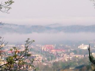A peek at Pigeon Forge from the mountain top - Alice Curnick