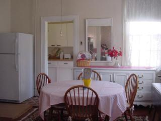 Apt #1 Dining area - Harvard Apartments