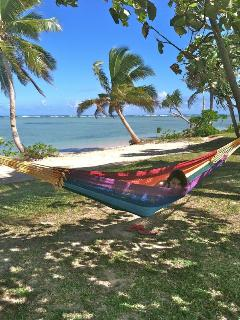 Sway like the palm trees in one of our hammocks - SigaSiga Sands Cottages