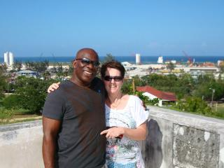 My wife and I in Florida - Henley Taylor
